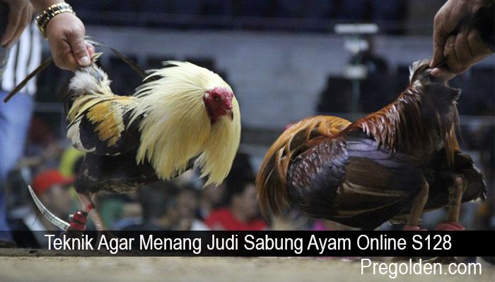 Teknik Agar Menang Judi Sabung Ayam Online S128
