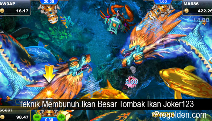 Teknik Membunuh Ikan Besar Tombak Ikan Joker123