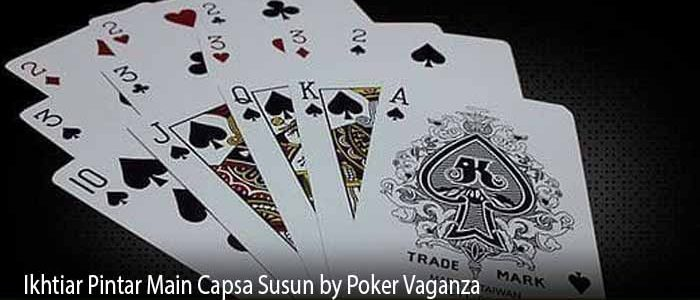 Ikhtiar Pintar Main Capsa Susun by Poker Vaganza